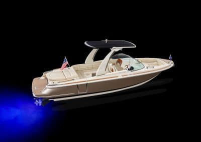 The 2019 Chris Craft Launch 25 GT Elevated Side Hero