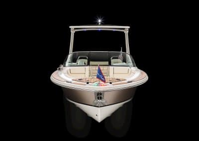The 2019 Chris Craft Launch 25 GT Front Hero